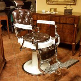 Poltrona barbiere Regina Amata Catania