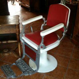Poltrona barbiere Regina Amata Parma