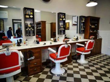 Arredamento negozio barber shop